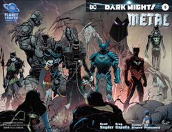 DARK NIGHTS METAL #5 PLANET COMIC CON EXCLUSIVE