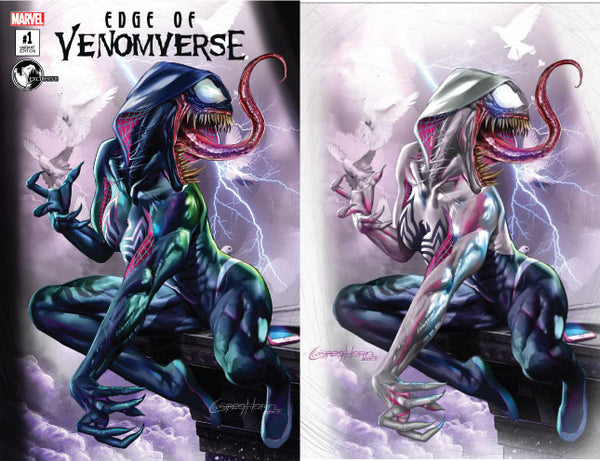 EDGE OF VENOMVERSE #1 UNKNOWN COMIC BOOKS EXCLUSIVE 2 PACK GREG HORN 6/28/2017
