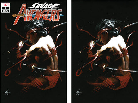 SAVAGE AVENGERS #1 DELL'OTTO EXCLUSIVE 2 PACK 5/1/2019
