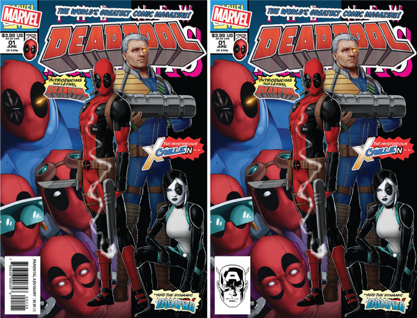 DEADPOOL #1 UNKNOWN COMIC BOOKS JTC 6/6/2018