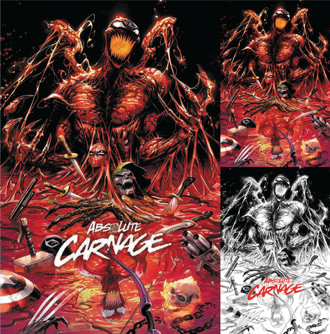 ABSOLUTE CARNAGE #1 (OF 4) TYLER KIRKHAM EXCLUSIVE 3 PACK (08/28/2019)