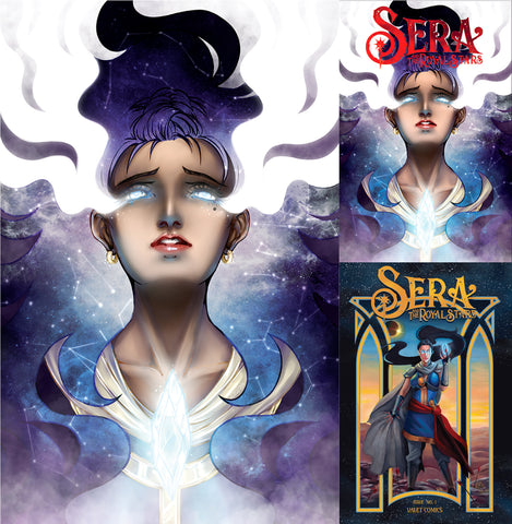 SERA & ROYAL STARS #1 UNKNOWN COMICS EXCLUSIVE 3 PACK (07/17/2019)