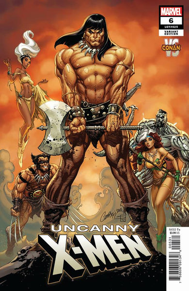 UNCANNY X-MEN #6 JSC CONAN VS MARVEL VAR 12/19/2018