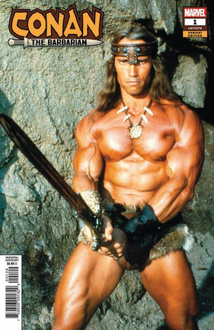 CONAN THE BARBARIAN #1 ARNOLD SCHWARZENEGGER MOVIE VAR 1/30/2019