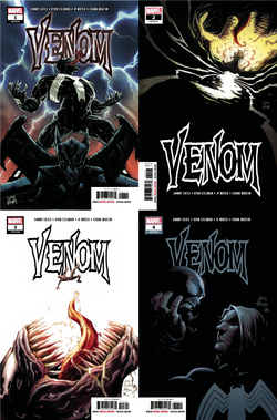 VENOM #1 #2 #3 & #4 BUNDLE 8/8/2018