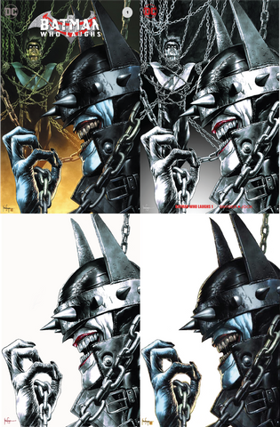 BATMAN WHO LAUGHS #1 (OF 6) UNKNOWN COMIC BOOKS EXCLUSIVE SUAYAN 4 PACK 12/12/2018