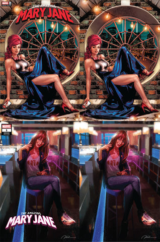AMAZING MARY JANE #1 UNKNOWN COMICS EXCLUSIVE VAR 4 PACK (10/23/2019)