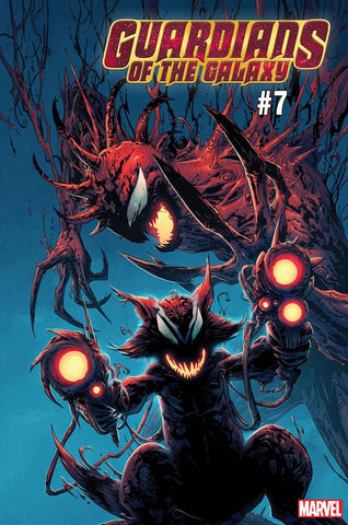 GUARDIANS OF THE GALAXY #7 CAMUNCOLI CARNAGE-IZED VAR (07/24/2019)