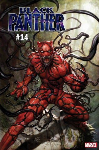 BLACK PANTHER #14 BROWN CARNAGE-IZED VAR (07/31/2019)