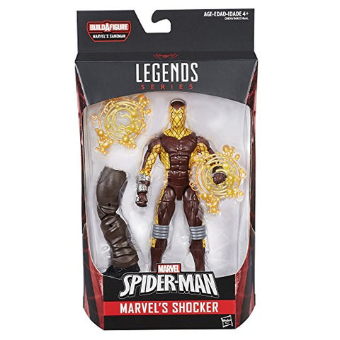 MARVEL SPIDER-MAN LEGENDS SERIES 6-INCH ACTION FIGURE - SHOCKER