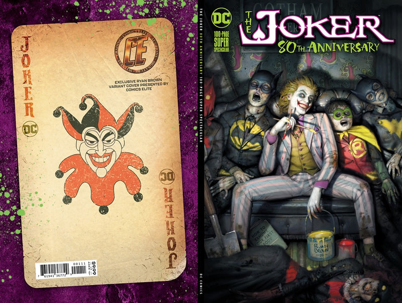 JOKER 80TH ANNIV 100 PAGE SUPER SPECT