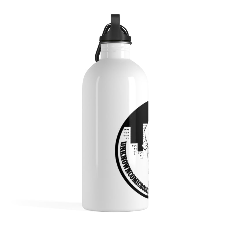 UNKNOWN COMICS CIRCLE LOGO Stainless Steel Water Bottle