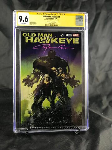 OLD MAN HAWKEYE #1 (OF 12) UNKNOWN COMIC BOOKS EXCLUSIVE CRAIN CGC 9.6 SS YELLOW LABEL 5/1/2018
