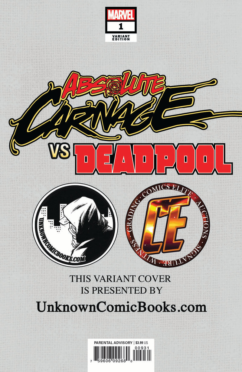 ABSOLUTE CARNAGE VS DEADPOOL