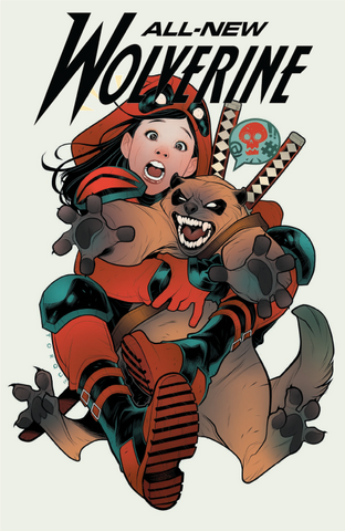 ALL NEW WOLVERINE #35 TORQUE DEADPOOL VAR LEG 5/16/2018