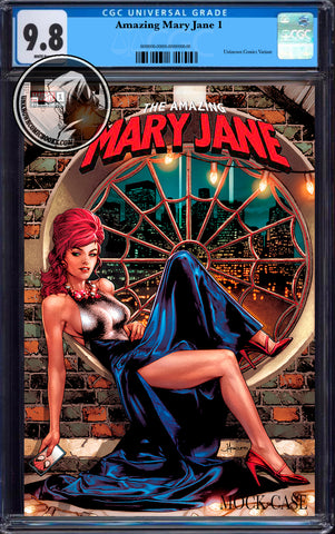 AMAZING MARY JANE #1 UNKNOWN COMICS ANACLETO EXCLUSIVE VAR CGC 9.8 BLUE LABEL (04/30/2020)
