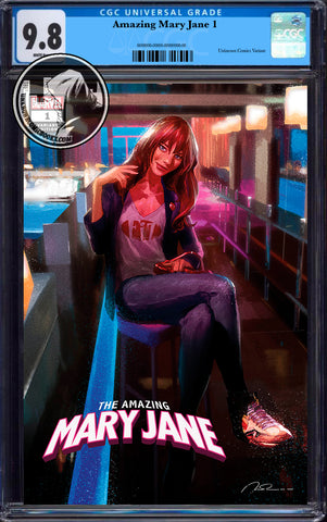 AMAZING MARY JANE #1 UNKNOWN COMICS PAREL EXCLUSIVE VAR CGC 9.8 BLUE LABEL (04/30/2020)
