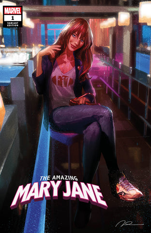 AMAZING MARY JANE #1 UNKNOWN COMICS PAREL EXCLUSIVE VAR (10/23/2019)