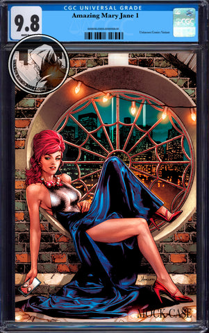 AMAZING MARY JANE #1 UNKNOWN COMICS ANACLETO EXCLUSIVE VIRGIN VAR CGC 9.8 BLUE LABEL (04/30/2020)