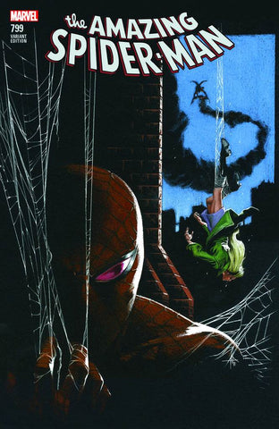 AMAZING SPIDER-MAN #799 LEG COMICXPOSURE DELLOTTO 5/2/2018