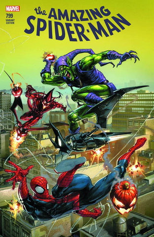 AMAZING SPIDER-MAN #799 LEG COMICXPOSURE CLAYTON CRAIN 5/2/2018