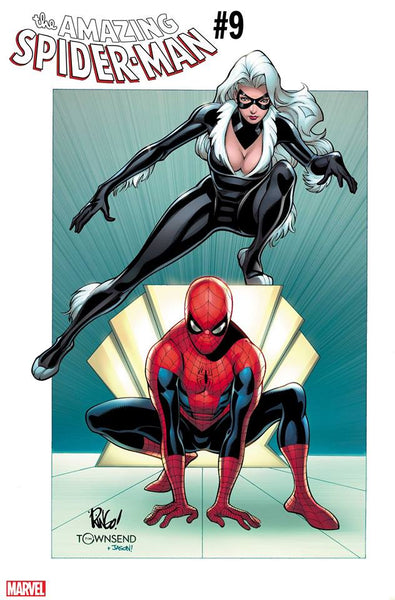 AMAZING SPIDER-MAN #9 WEIRINGO BLACK CAT VARIANT 11/14/2018