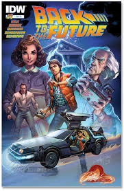 BACK TO THE FUTURE #1 J. SCOTT CAMPBELL EXCLUSIVE
