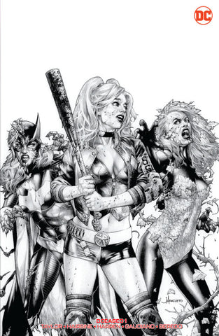 DCEASED #1 (OF 6) UNKNOWN COMIC BOOKS ANACLETO EXCLUSIVE B&W REMARK EDITION 5/1/2019