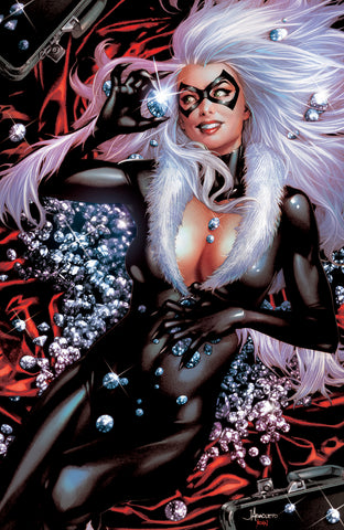 BLACK CAT #1 UNKNOWN COMICS ANACLETO EXCLUSIVE VIRGIN 6/5/2019