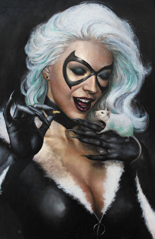 BLACK CAT #2 UNKNOWN COMICS MIKE CHOI EXCLUSIVE VIRGIN (07/10/2019)