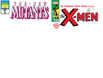 NEW MUTANTS #98 & X-MEN #1 FACSIMILE EDITION BLANK EXCLUSIVE 2 PACK (07/10/2019)