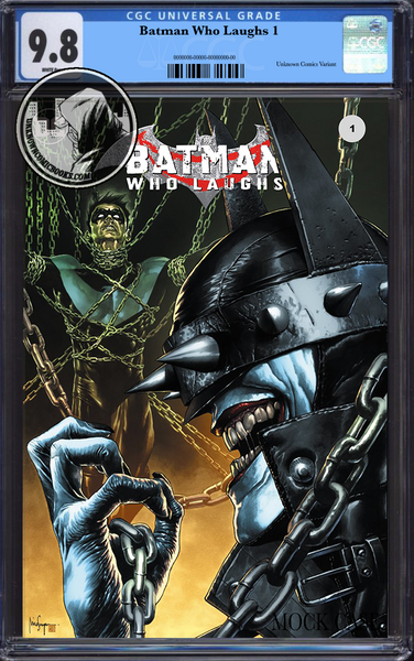 BATMAN WHO LAUGHS #1 (OF 6) UNKNOWN COMIC BOOKS EXCLUSIVE SUAYAN CGC 9.8 BLUE LABEL 3/30/2019