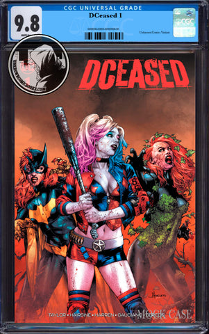 DCEASED #1 (OF 6) UNKNOWN COMIC BOOKS ANACLETO EXCLUSIVE CGC 9.8 BLUE LABEL 8/30/2019