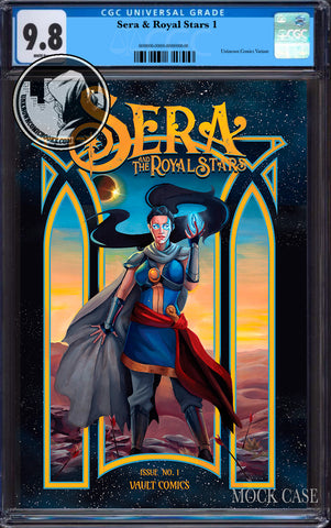 SERA & ROYAL STARS #1 UNKNOWN COMICS CANDICE DAILEY EXCLUSIVE CGC 9.8 BLUE LABEL (10/30/2019)