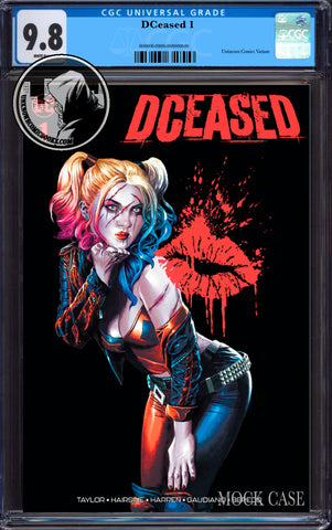 DCEASED #1 (OF 6) UNKNOWN COMIC BOOKS SUAYAN EXCLUSIVE CGC 9.8 BLUE LABEL 8/30/2019