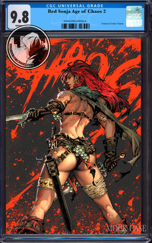 RED SONJA AGE OF CHAOS #2 KAEL NGU EXCLUSIVE VAR CGC 9.8 BLUE LABEL (06/30/2020)