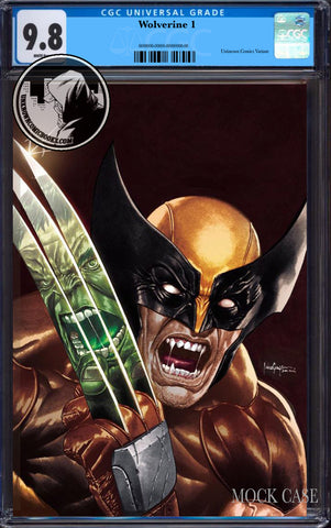 WOLVERINE #1 UNKNOWN COMICS MICO SUAYAN EXCLUSIVE VIRGIN VAR DX CGC 9.8 BLUE LABEL (06/30/2020)