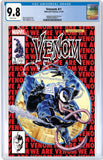 VENOM #1 UNKNOWN COMIC BOOKS & KRS EXCLUSIVE 9.8 CGC BLUE LABEL MAYHEW 8/1/2018