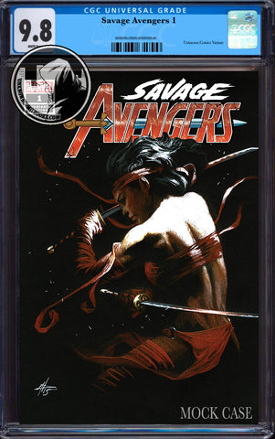 SAVAGE AVENGERS #1 DELL'OTTO EXCLUSIVE CGC 9.8 BLUE LABEL 7/30/2019