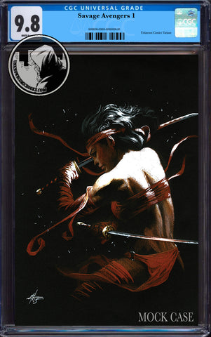 SAVAGE AVENGERS #1 DELL'OTTO EXCLUSIVE VIRGIN CGC 9.8 BLUE LABEL 7/30/2019