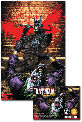 BATMAN WHO LAUGHS #2 (OF 6) UNKNOWN COMIC BOOKS SUAYAN EXCLUSIVE LIMITED VIRIGN 1/16/2019