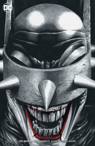 BATMAN WHO LAUGHS #5 (OF 6) UNKNOWN COMIC BOOKS SUAYAN EXCLUSIVE REMARK EDITION 5/8/2019