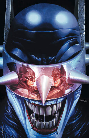BATMAN WHO LAUGHS #5 (OF 6) UNKNOWN COMIC BOOKS SUAYAN EXCLUSIVE LMTD VIRGIN REFLECTION 5/8/2019