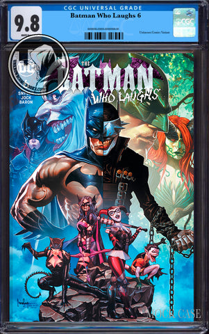 BATMAN WHO LAUGHS #6 (OF 6) UNKNOWN COMIC SUAYAN EXCLUSIVE CGC 9.8 BLUE LABEL (09/30/2019)