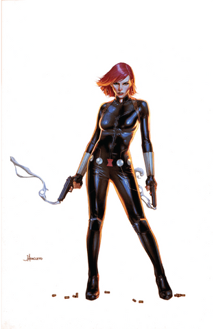 BLACK WIDOW #1 UNKNOWN COMIC BOOKS EXCLUSIVE ANACLETO MODERN 1/16/2019