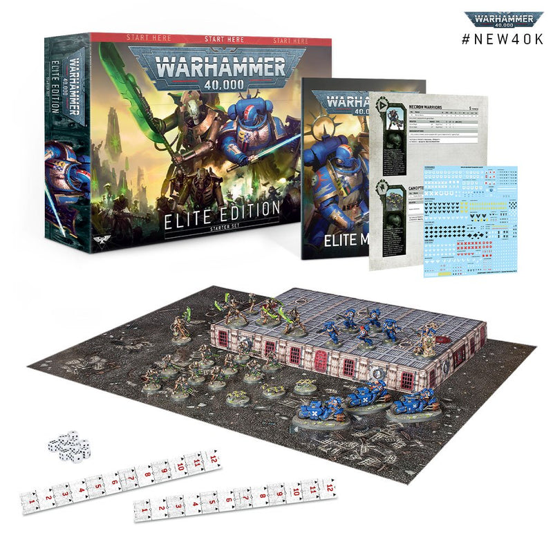 WARHAMMER 40000: ELITE EDITION (ENGLISH)