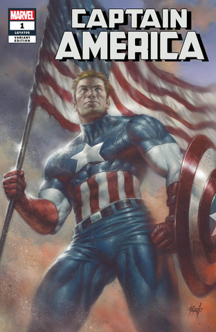 CAPTAIN AMERICA #1 UNKNOWN COMIC BOOKS EXCLUSIVE PARRILLO CVR A 7/4/2018