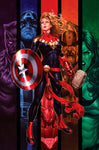 CAPTAIN MARVEL #16 UNKNOWN COMICS EXCLUSIVE VIRGIN VAR (03/18/2020)
