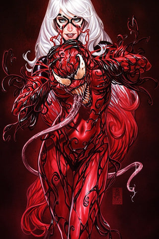 SLIGHTLY DAMAGED BLACK CAT #2 BROOKS CARNAGE-IZED EXCLUSIVE VIRGIN VAR (07/10/2019)