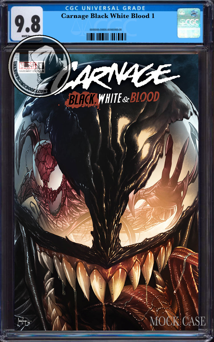 CARNAGE BLACK WHITE AND BLOOD